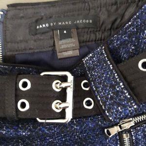 Marc Jacobs Skirts - Marc Jacobs blue wool tweed skirt 4